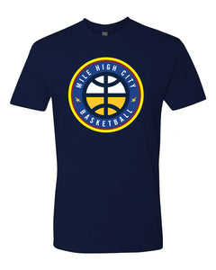 Men's Nuggets Mile High City Tee - Navy