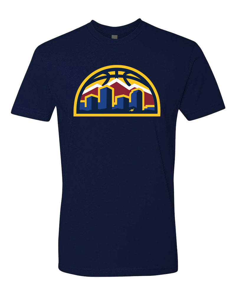 Men's Nuggets New Skyline Tee - Navy