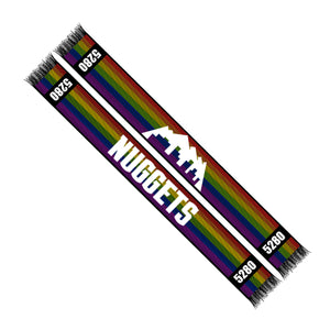 Nuggets 2019 City Edition Scarf