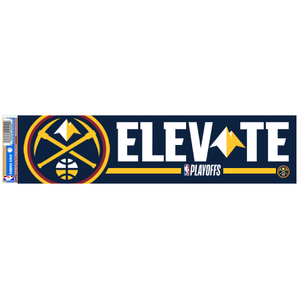 2018-19 Denver Nuggets Playoff Bumper Sticker