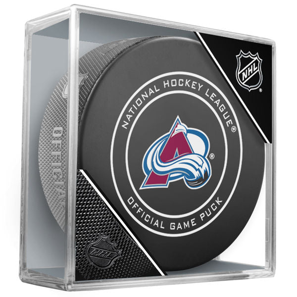 Colorado Avalanche Official Game Puck
