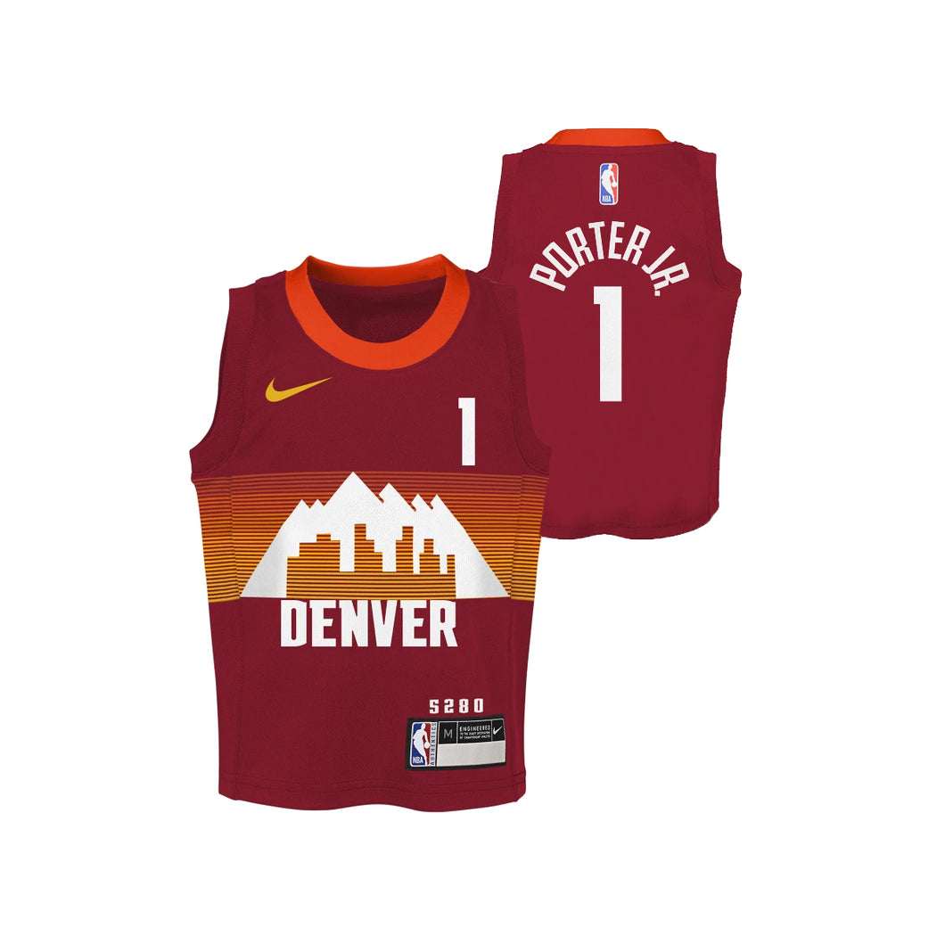 2020-21 Nuggets City Edition Child Player Jerseys