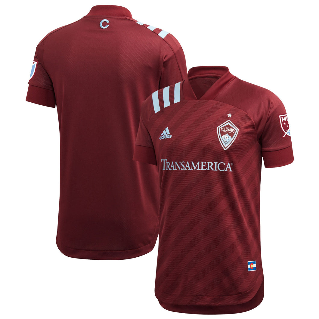 2020 Colorado Rapids Nine Six Authentic Jersey