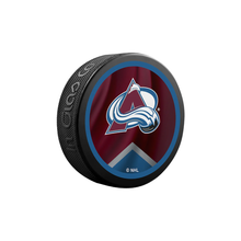 Avalanche Reverse Retro 2 Sided Puck
