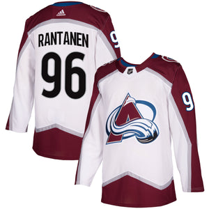 Avalanche Authentic Road Player Jerseys