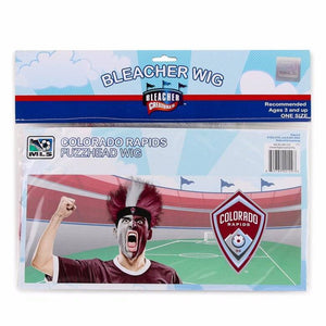 Colorado Rapids Fuzz Head Wig
