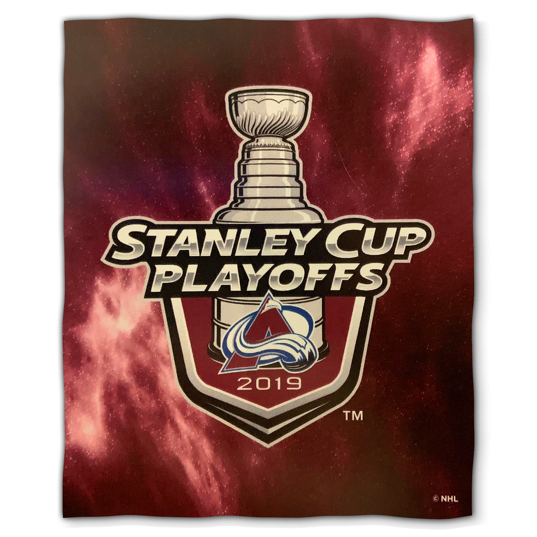 2019 Stanley Cup Avalanche Lockup Blanket