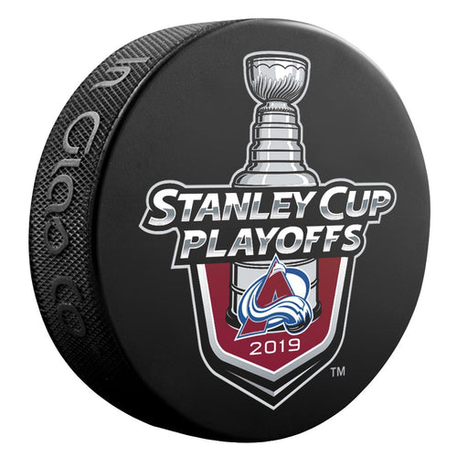 2019 Stanley Cup Playoff Lock Up Logo Puck
