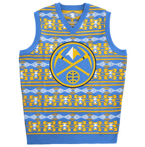 Nuggets Pick Axe Logo Ugly Sweater Vest