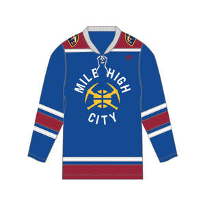 Denver Nuggets Statement Hockey Jersey