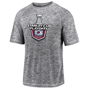 Avalanche 2021 Playoff Lock Up Logo Tee