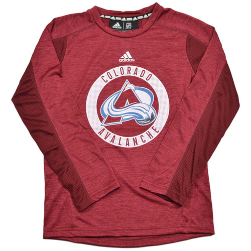 Youth Training Top L/S Performance Tee - Avalanche