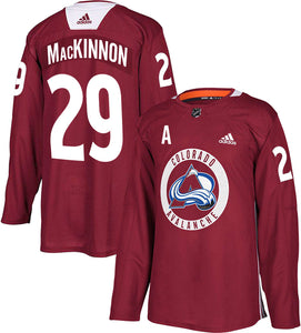 Avs Authentic Practice Player Jersey
