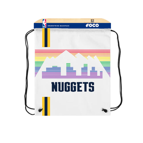 Denver Nuggets City Edition Drawstring Backpack