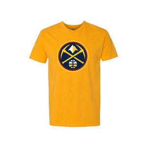 Youth Nuggets New Primary Logo Tee - Gold