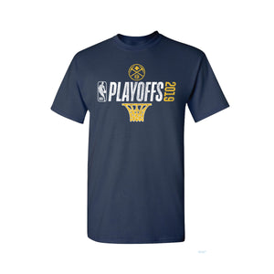 2019 Nuggets Youth Playoff Net Logo Tee