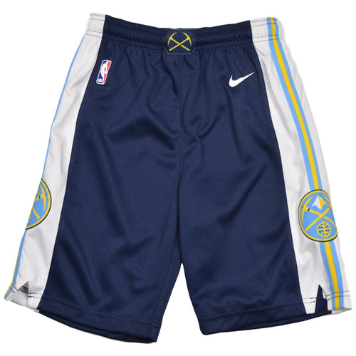 Navy Youth Swingman Shorts - Nuggets