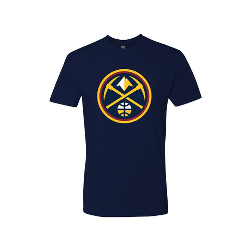 Youth Nuggets New Primary Logo Tee - Navy