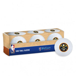 Nuggets 3 Pack Golf Ball Pack