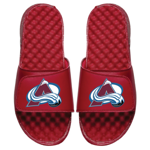 Colorado Avalanche Islide Sandals - Burgundy