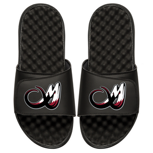 Colorado Mammoth Tusk Logo Islide Sandals - Black