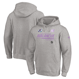 Avalanche 2020-21 Hockey Fights Cancer Hoody