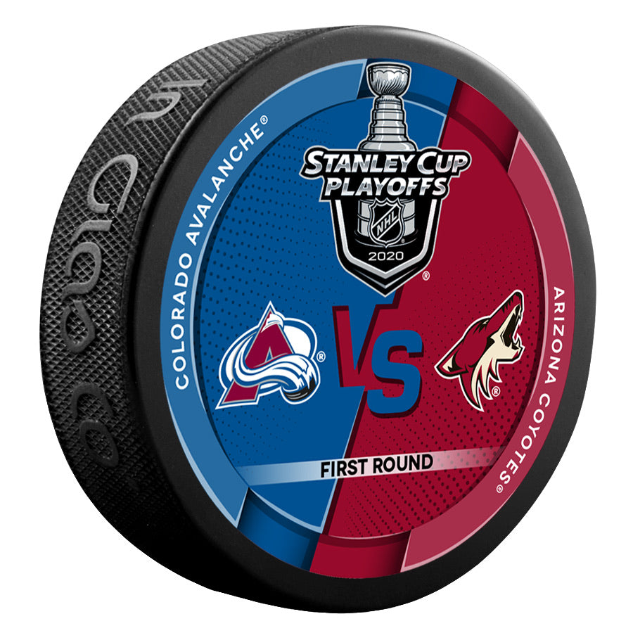 2020 Stanley Cup Playoff Round One Dueling Puck