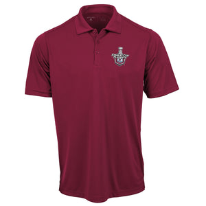 Avalanche 2020 Stanley Cup Playoff Polo - Burgundy