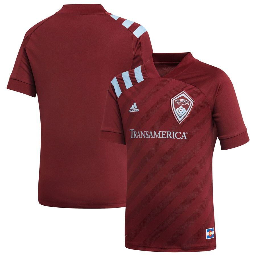 2020 Colorado Rapids Youth Nine Six Replica Jersey