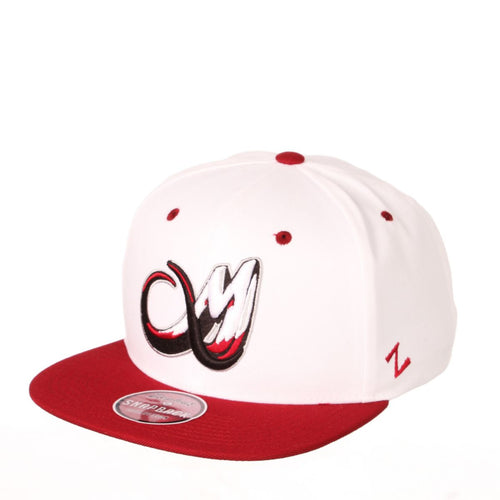 Colorado Mammoth Snapback - White/Burgundy