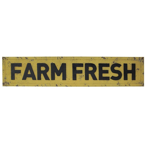 Metal Farmfresh Sign