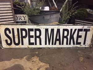 Super Market Sign