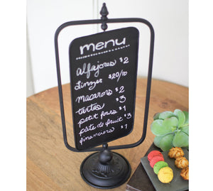 Table Top Swivel Chalkboard