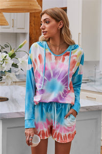LIMITED EDITION: Dipped Tie Dye Lounge Set (S-XL)