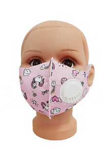 Kids Valve Mask in Multiple Colors