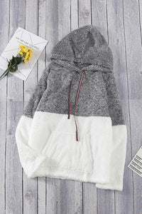 Grey Colorblock Sherpa (S-2XL)
