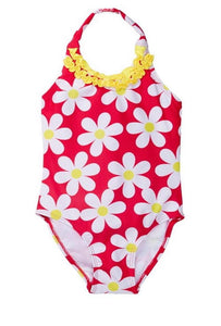 Kids Floral Swimsuit - 6T