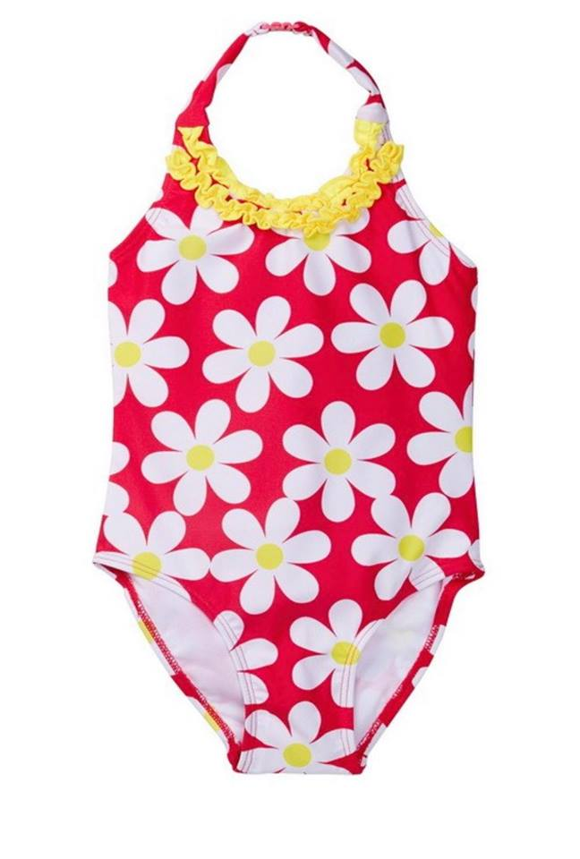 Kids Floral Swimsuit