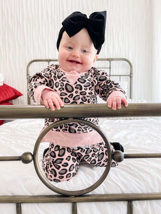 Baby Cheetah Lounge Set