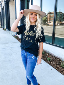 Hello Fall Graphic Tee