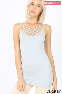 Strappy Crisscross Cami (6 Colors)