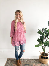 Daydreamer Blouse - Rose