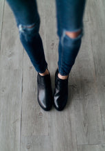 Totally Basic Black Bootie