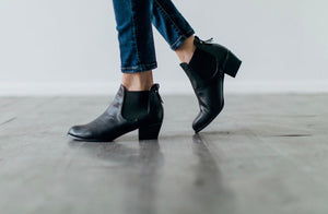 Totally Basic Black Bootie - 5.5