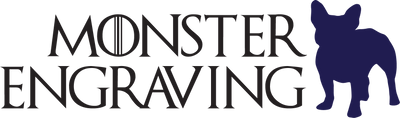 Monster Engraving Logo