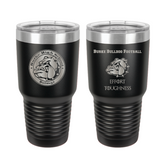 30 oz Laser engraved tumbler Design 1
