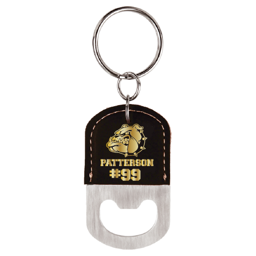 Burke Football Custom Keychain Leatherette