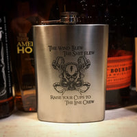 Custom 8oz Flask