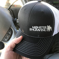 Monster Engraving Collectable Trucker hat