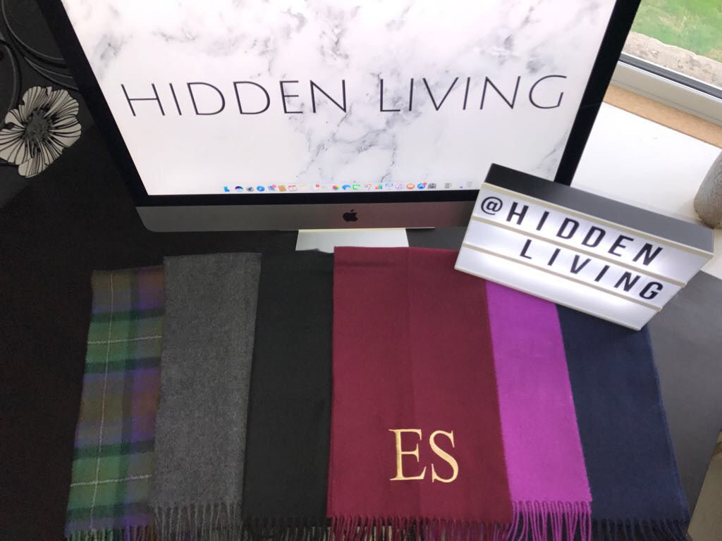 Personalised Unisex Scarves